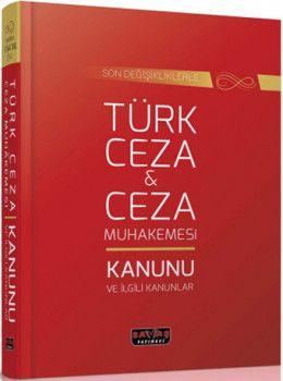 Savaş Yayınları Türk Ceza ve Ceza Muhakemesi Kanunu ve İlgili Kanunlar Cep