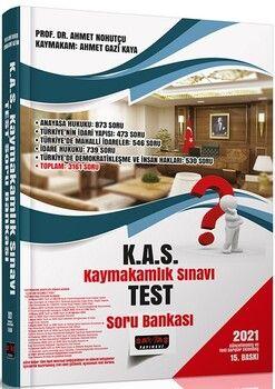 Savaş YayınlarıKAS Kaymakamlık Sınavı Test Soru Bankası