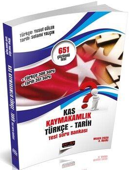 Savaş YayınlarıKAS Kaymakamlık Sınavı Türkçe Tarih Test Soru Bankası