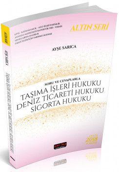 Savaş Yayınları Taşıma İşleri Hukuku Deniz Ticareti ve Sigorta Hukuku