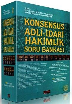 Savaş Yayınları Konsensus Adli İdari Hakimlik Soru Bankası 17. Baskı
