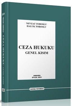 Savaş Yayınları Ceza Hukuku Genel Kısım