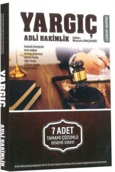 Savaş Yayınları Yargıç Adli Hakimlik 7 Adet Tamamı Çözümlü Deneme Sınavı
