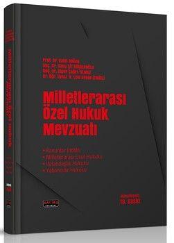 Savaş Yayınları Milletlerarası Özel Hukuk Mevzuatı 18. Baskı