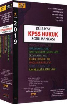 Savaş Yayınları 2019 KPSS Hukuk Külliyat Soru Bankası 7. Baskı