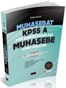 Savaş Yayınları Muhasebat KPSS A Kurum Muhasebe Konu Anlatımı 2. Baskı