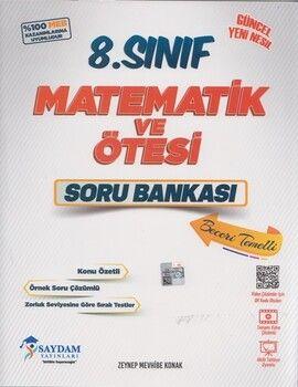 Saydam Yayınları 8. Sınıf Matematik ve Ötesi Soru Bankası