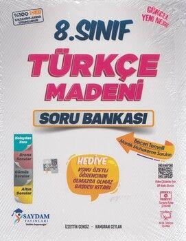 Saydam Yayınları 8. Sınıf Türkçe Madeni Soru Bankası