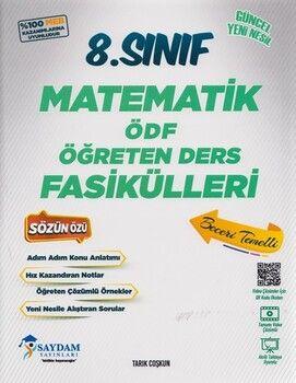 Saydam Yayınları 8. Sınıf Matematik ÖDF Öğreten Ders Fasikülleri