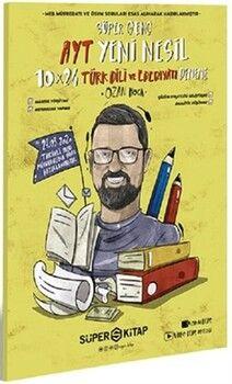 Süper Kitap AYT Türk Dili ve Edebiyatı Süper Genç 10 Deneme