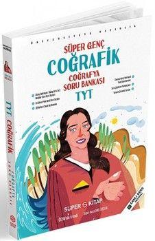 Süper Kitap TYT Coğrafya Süper Genç Coğrafyafik Soru Bankası