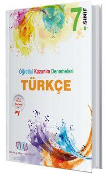 Süreç Yayın Dağıtım 7. Sınıf Türkçe Öğretici Kazanım Denemeleri