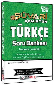 Süvari Akademi 2018 KPSS Türkçe Çözümlü Soru Bankası