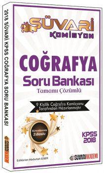 Süvari Akademi 2018 KPSS Süvari Komisyon Coğrafya Tamamı Çözümlü Soru Bankası