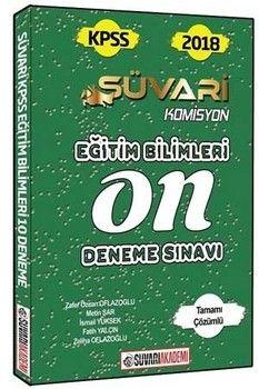 Süvari Akademi Yayınları KPSS Eğitim Bilimleri Komisyon Tamamı Çözümlü 10 Deneme Sınavı
