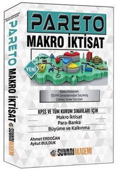 Süvari Akademi Yayınları KPSS Pareto Makro İktisat Konu Anlatımlı Çıkmış Sınav Soruları