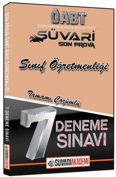 Süvari Akademi Yayınları ÖABT Sınıf Öğretmenliği Tamamı Çözümlü 7 Deneme Sınavı