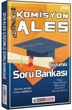Süvari Akademi Yayınları 2018 ALES Komisyon Çözümlü Soru Bankası