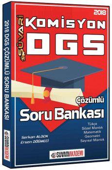 Süvari Akademi Yayınları 2018 DGS Komisyon Çözümlü Soru Bankası