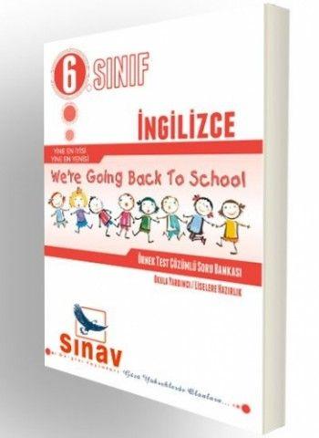 Sınav 6. Sınıf İngilizce Etkinlik ve Testlerle Konu Anlatımı