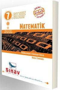 Sınav 7. Sınıf Matematik Konu Anlatımlı Etkinlikler Testler