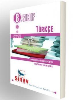 Sınav 8. Sınıf Türkçe Konu Anlatımları Etkinlikler Testler