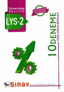 Sınav LYS 2 Fizik Kimya Biyoloji 10 Deneme
