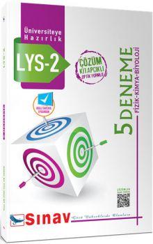 Sınav LYS 2 Fizik Kimya Biyoloji Çözümlü 5 Deneme