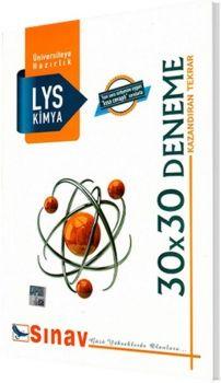Sınav LYS Kimya 30x30 Deneme