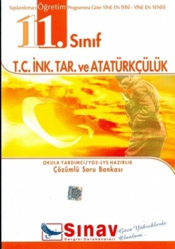 Sınav Yayınları 11. Sınıf T.C. İnk. Tar. ve Atatürkçülük Çözümlü Soru Bankası