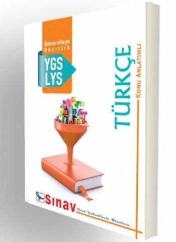 Sınav Yayınları YGS LYS Türkçe Konu Anlatımlı Test Uygulamalı