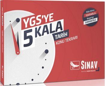 Sınav Yayınları YGS ye 5 Kala Tarih Konu Tekrarı