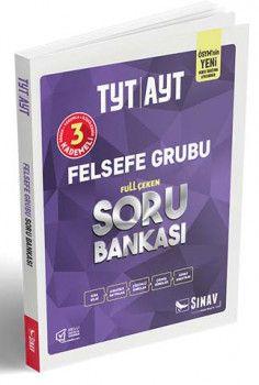 Sınav Yayınları TYT AYT Felsefe Grubu Full Çeken Soru Bankası