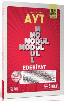 Sınav Yayınları  AYT Edebiyat Modül Modül Konu Anlatımlı