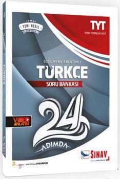 Sınav Yayınları TYT Türkçe 24 Adımda Özel Konu Anlatımlı Soru Bankası