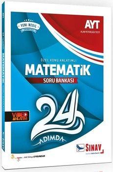 Sınav Yayınları AYT Matematik 24 Adımda Özel Konu Anlatımlı Soru Bankası