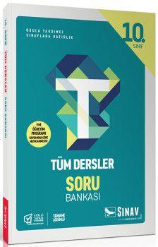 Sınav Yayınları 10. Sınıf Tüm Dersler Soru Bankası