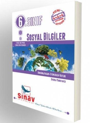 Sınav Yayınları 6. Sınıf Sosyal Bilgiler Konu Anlatımları Etkinlikler Testler