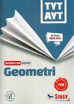 Sınav Yayınları TYT AYT Geometri Akordiyon Serisi