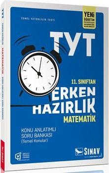 Sınav Yayınları 11. Sınıf Matematik TYT Erken Hazırlık Konu Anlatımlı Soru Bankası