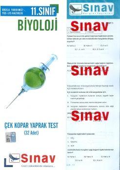 Sınav Yayınları 11. Sınıf Biyoloji Çek Kopart Yaprak Test