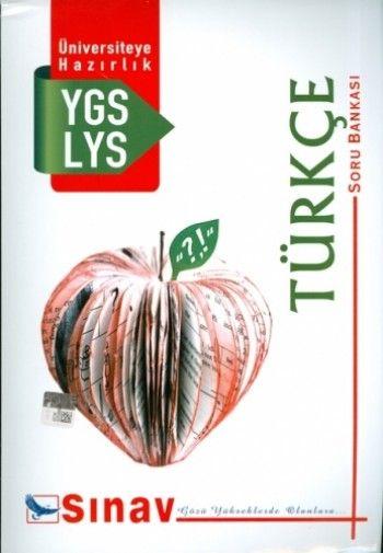 Sınav Yayınları YGS LYS Türkçe Soru Bankası