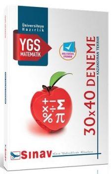 Sınav Yayınları YGS Matematik 30X40 Deneme