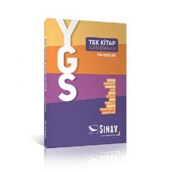 Sınav Yayınları YGS Tüm Dersler Tek Kitap Soru Bankası