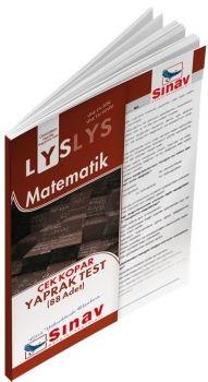 Sınav Yayınları LYS Matematik Çek Kopar Yaprak Test