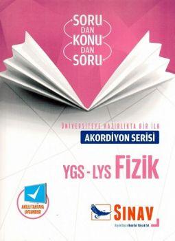 Sınav Yayınları YGS LYS Fizik Akordiyon Serisi