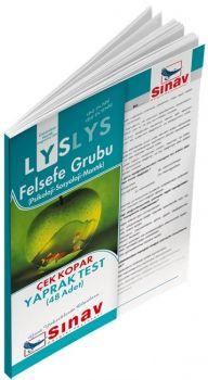 Sınav Yayınları LYS Felsefe Grubu Yaprak Test