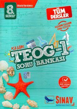 Sınav Yayınları 8. Sınıf TEOG 1 Tüm Dersler Soru Bankası