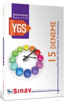 Sınav Yayınları YGS 15 Deneme Çıkmış Sorularla