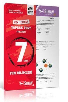 Sınav Yayınları 7. Sınıf Fen Bilimleri Yaprak Test